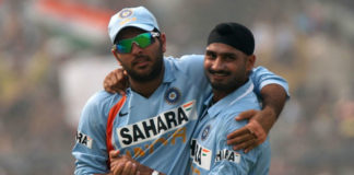 yuvi and bhajji