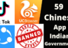 chinese apps ban