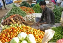 vegetable price increased